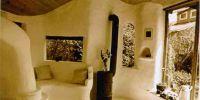 Глиняный пол в современном доме
